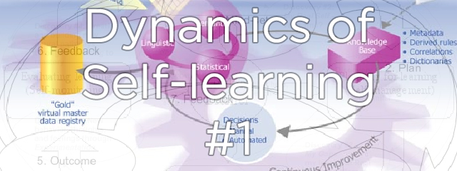 Dynamics of Self-Learning: Part 1