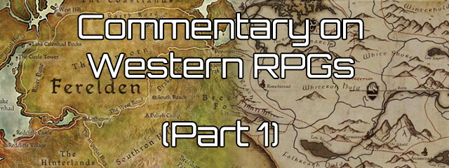 Commentary on the Progression of Western RPGs: Part 1