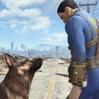 Fallout 4: Protagonist and Dog