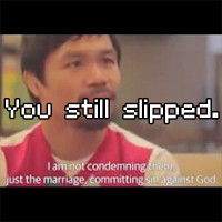 Manny Pacquiao on Same Sex Marriage