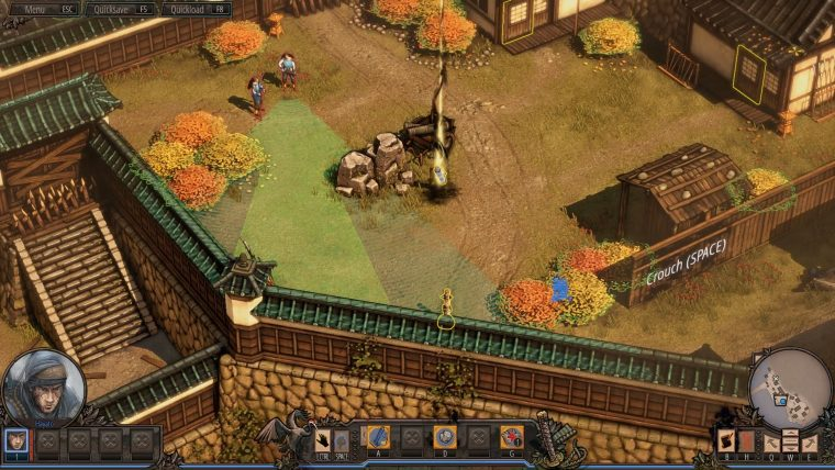 Shadow Tactics: Blades of the Shogun - First Mission
