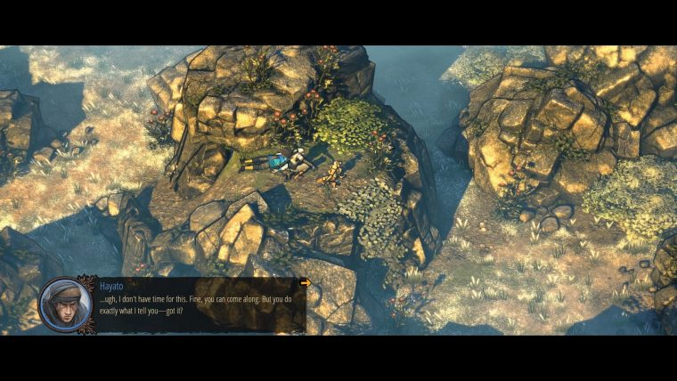 Shadow Tactics: Blades of the Shogun - Meeting Yuki in the Second Mission