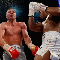 Anthony Joshua vs. Wladimir Klitschko — Uppercut in the 11th