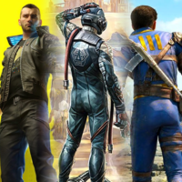 Cyberpunk 2077, The Outer Worlds, Fallout 4